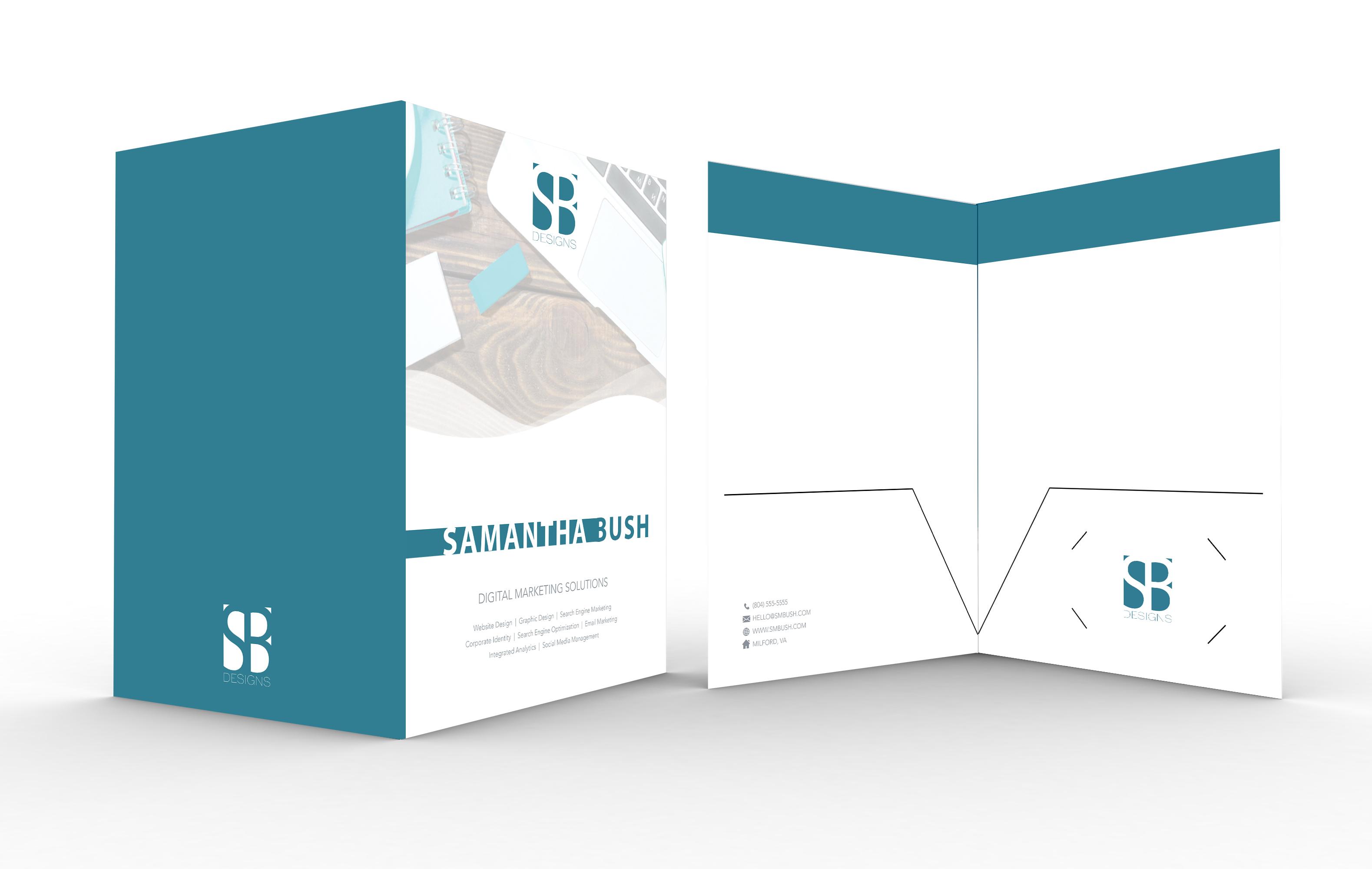 SB Designs Leave Behind Folder