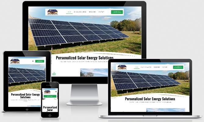 Bush Solar Website