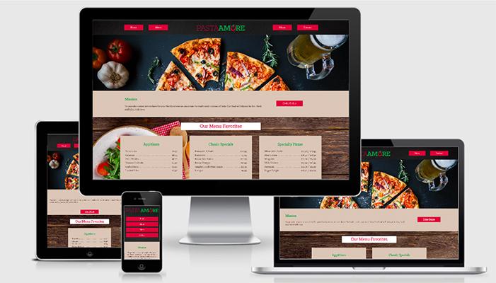Pasta Amore Website