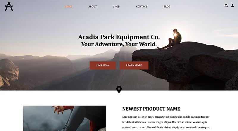 GRA 451 Acadia Park Equipment