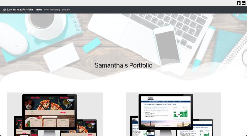 Personal Portfolio v1 - Bootstrap Framework